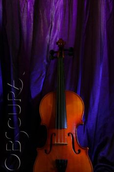 violet and the violin by cessnothingelse