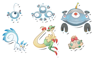 Pokemon Stickers Set 2