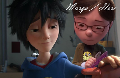 Hiro Hamada and Margo from Despicable me by xABeautifulDream