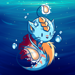 Sea Kitty by michelle192837