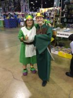 WizardWorld 2014 Toph n Suki by FireNationPhoenix