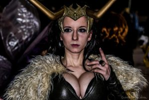 Female Loki - Ficosplay 2013 by EddieMW