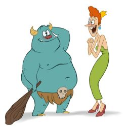 The Princess and the Ogre by TwiggyMcBones