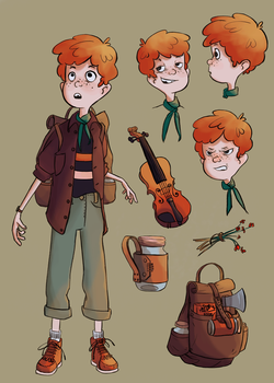 Fergus Character sheet by Megnarr