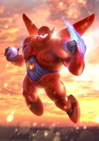 Baymax - Big Hero 6 by BlueBloodMan