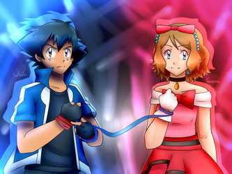 AmourCanon Anniversary- Linked by a ribbon by HikouKazex3