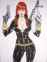 black widow by vagnerskyblue