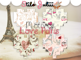 Love Paris Motivos by StiloJuliii
