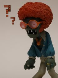 Disco Zombie questions his desire to eat brains by Crigger