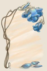 Blue Roses by GoblinQueeen