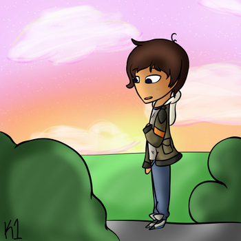 The Setting Sun (Lance Voltron) by K1ance