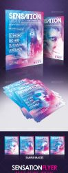 Sensation Flyer by lickmystyle