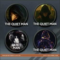 The Quiet Man icons by BrokenNoah