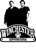 Supernatural - Winchester Logo by chasesocal