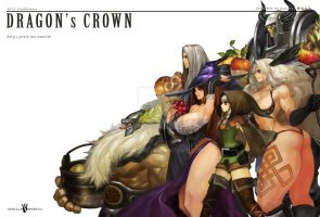 Dragon's Crown by fantchi