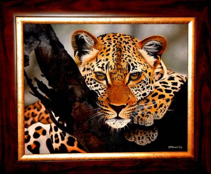 African Leopard by LauraFairyness