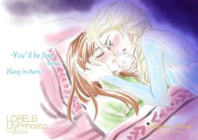 Elsanna Week Day 06: Stay Strong by LORELEI-LilyPrincess