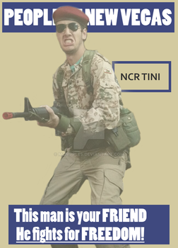(CHEAP COSPLAY) NCR 1st RECON by mcnipples