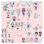 ADOPTS: Adoptable Fleamarket [19/38 OPEN] by Mewpyonadopts