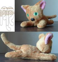 Original Cat Plush by professoroak