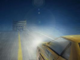 driving in the fog by mosconariz