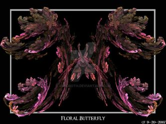 Floral Butterfly by Astoroth