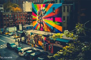New York walls by olideb08
