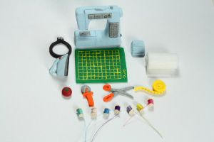 1:12 Scale Miniature Sewing/Embroidery Machine by BeautifulEarthStudio