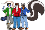 Group Photo by Carolzilla by AnthroLoverJay