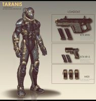 Taranis Infiltrator by Scuro