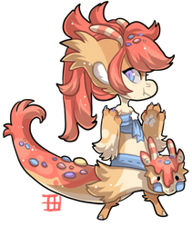 #1005 Magical Blessed Mythical BB - Candy dragon by griffsnuff
