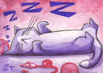 ACEO Sweet dream by Siriliya