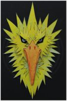 3D-Portraits: Zapdos by SaQe