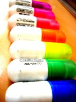 Rainbow Highlighters by TFNYaaf