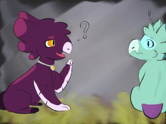 Little Lady Tori has spooked a Wish. by FNOKitty