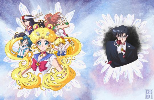 Sailor Moon Crystal-ified Manga Image by KrisRix