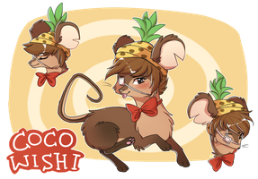[Mouse Profile] Cocowishi by Ariamouse