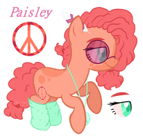 Paisley [New MLP OC] by Blu-FatigueMonster