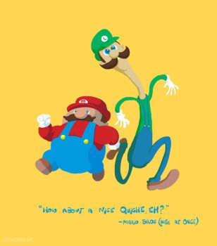 It's Luigi and Mario. by claudetc