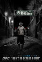 UFC 158   Welcome to Stockton   Nick Diaz by olieng