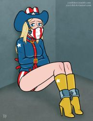 America in a Bind by Yes-I-DiD