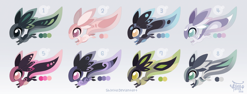 Xoloti Adoptables [OPEN, 4 left] by Shivita
