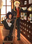 The Mists (otp challenge day 8) Shopping by AlexandeNight