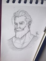 Beardy. by mkw-no-ossan