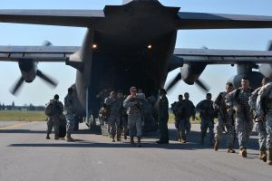 C-130 Arrival by CombatCamera09