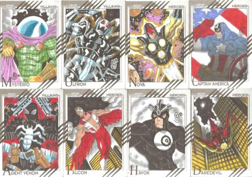 Cards Marvel Fleer Retro 05 by The-Satsui