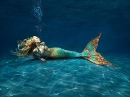 Silicone Mermaid Tail Costume by mertailor