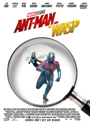Ant-Man and The Wasp movie poster by ArkhamNatic