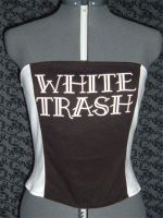White Trash Corset Top by crafterbynite