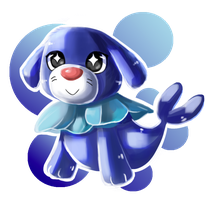 Precious Popplio Child by Cloudy-Eevee